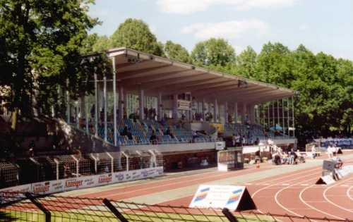 Willy-Sachs-Stadion - Tribüne