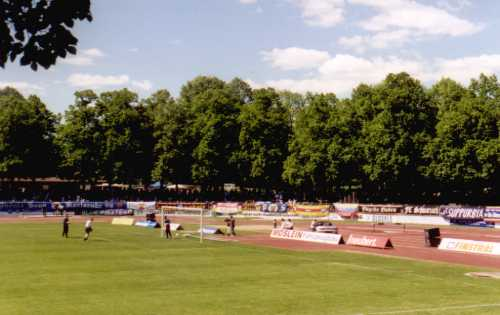 Willy-Sachs-Stadion - Kurve